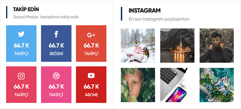 Instagram and Social Media Integration